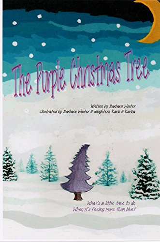Book: The Purple Christmas Tree by Barbara Woster