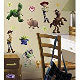 Disney Pixar Toy Story Mega Pack Wall Decals - 1 Giant Decal + 34 Additional Decals offers