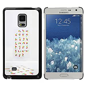 Paccase / SLIM PC / Aliminium Casa Carcasa Funda Case Cover - Random Abstract Art Colorful - Samsung Galaxy Mega 5.8 9150 9152
