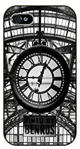 iPhone 5 / 5s New York clock - black plastic case / Nature, Animals, Places Series by icecream design