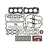 #2: Evergreen HSHB3035 Cylinder Head Gasket Set Head Bolt