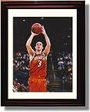 Framed Gerry McNamara Autograph Replica Print - Syracuse Orange