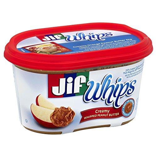 Jif Whipped Creamy Peanut Butter, 15 oz.