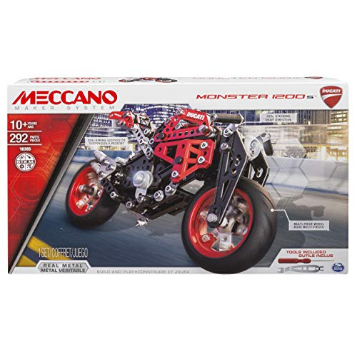 Meccano by Erector, Ducati Monster 1200 S Model Building Kit