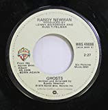 Randy Newman 45 RPM Ghosts / It's Money That I Love