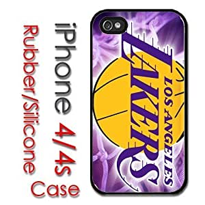 Super iPhone 4S Rubber Silicone Case - Los Angeles Lakers Basketball kobe nash