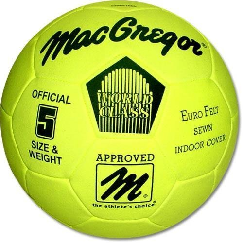 Eurofelt Indoor Soccer Ball Größe 5 by MacGregor