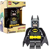 Lego Batman Minifigure film Batman Kids Alarm clock | nero/Yelow plastica | | Altezza 24,1 cm | LCD Display | Boy Girl | ufficiale