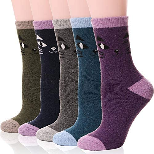 Womens Winter Warm Work Thermal Heated Heavy Duty Boots Socks Cashmere Snow Sock