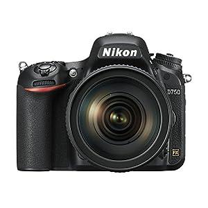 Nikon VBA420K002 D750 Digital SLR Camera with AF-S 24-120 mm f/4 VR Lens Kit (24.3 MP) 3.2 inch Tilt-Screen LCD with Wi…
