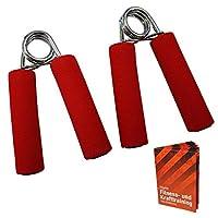 2 x Fingertrainer DEXTEROUS level: medium red onesize