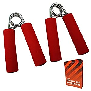 2 x Fingertrainer DEXTEROUS level: medium red onesize