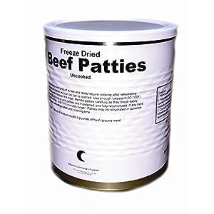 Freeze Dried Uncooked Beef Patties