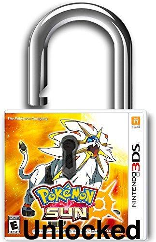 Pokémon Sun - Nintendo 3DS - Unlocked by PokeCenter - All 807 Pokemon 100% Pokemon Bank Legal - Custom ( Competitive Tournament Edition ) x995 Items - Complete Pokedex - - Online Card Gift Canada