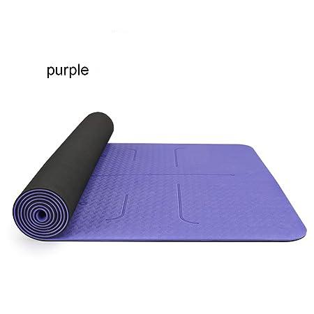 JORGO Colchoneta de Yoga TPE Antideslizante Gimnasia ...