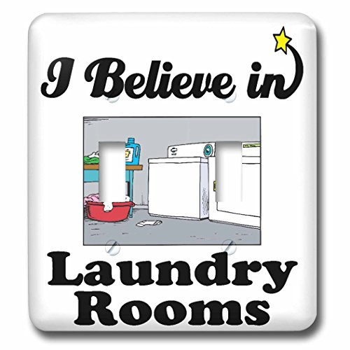 3dRose LLC 3dRose LLC lsp_105261_2 I Believe In Laundry R...