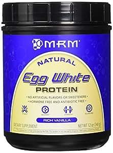 MRM All Natural Egg White Protein, Rich Vanilla, 12oz