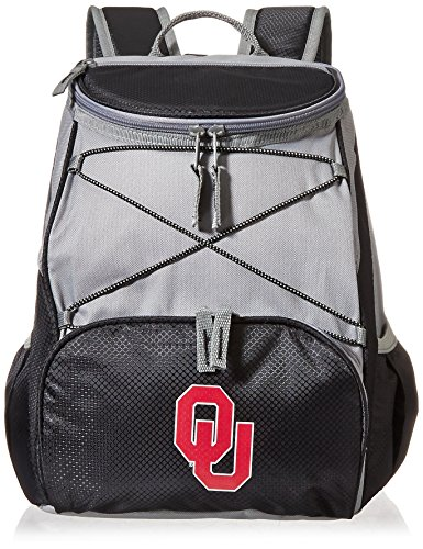 PICNIC TIME NCAA Oklahoma Sooners PTX Insulated Backpack Cooler, Black