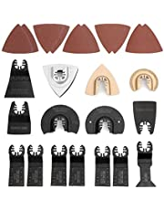 WORKPRO 25-Piece Oscillating Power Tools Multitool Accessories Saw Blades Quick Release Kit