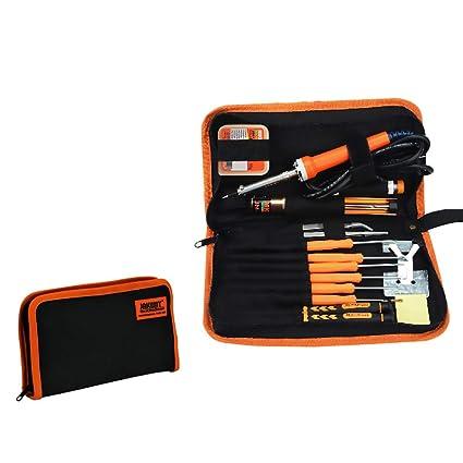 Soldador kit 30W electrónica soldadores herramienta para Jakemy bricolaje desmontar herramientas con destornilladores de precisión enviar