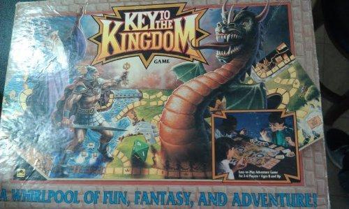Kingdom Key (Key to the Kingdom Adventure Board Game - 1992 by Golden)