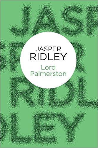 Book Lord Palmerston (Bello) by Jasper Ridley (2013-06-20)