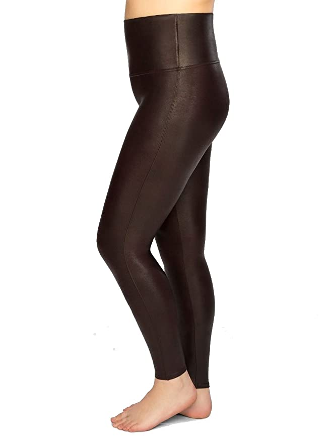 12250ca2c4b Spanx  Ready to Wow  Faux Leather Leggings  Amazon.co.uk  Clothing