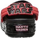 Crocs Kids' Star Wars Light-Up Clog, Darth Vader