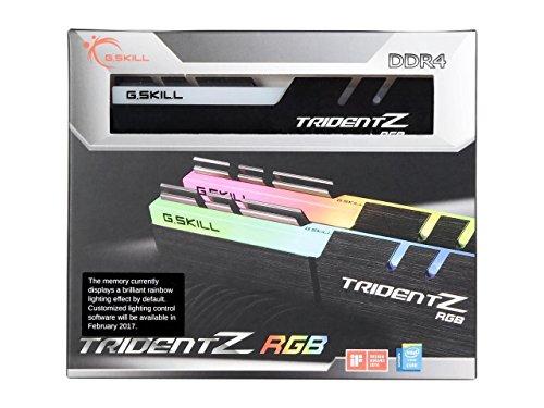 (G.Skill TridentZ RGB Series 16GB (2 x 8GB) 288-Pin SDRAM DDR4 3200 (PC4 25600) F4-3200C14D-16GTZR )
