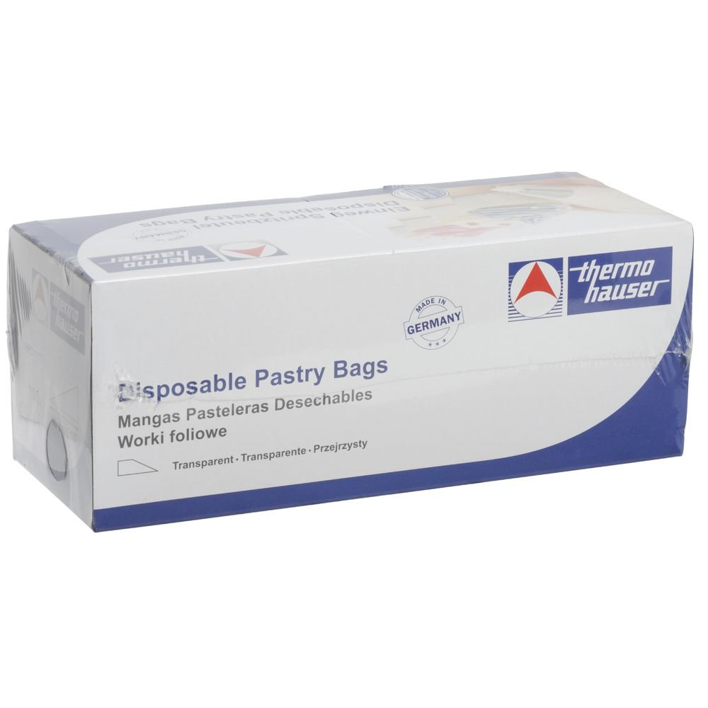 Thermohauser Clear Polyethylene Disposable Pastry Bags - 18''L