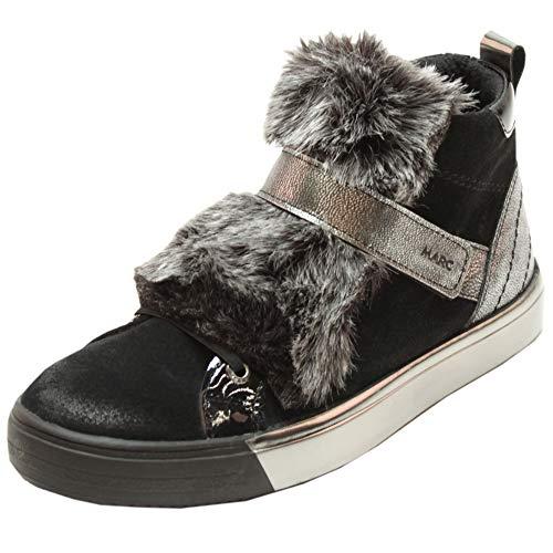 metallic verniz Blac Marc 00610 Cow Fabienne Boots Chukka Rot Suede Damen Shoes xqwR6g
