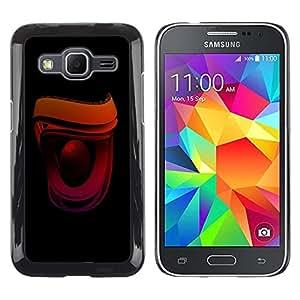Be Good Phone Accessory // Dura Cáscara cubierta Protectora Caso Carcasa Funda de Protección para Samsung Galaxy Core Prime SM-G360 // Speaker