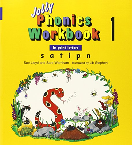 Jolly Phonics Workbooks 1-7 In Print Letters