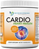 Cardio Heart Health-L-Arginine Powder Supplement-5000mg plus 1000mg L-Citrulline-with Minerals, and Antioxidants Vitamin C & E-Total Cardiovascular System Health-Formulated by REAL DOCTORS 16.82 oz