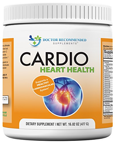 Cardio-Heart-Health-L-Arginine-Powder-Supplement-5000mg-plus-1000mg-L-Citrulline-with-Minerals-and-Antioxidants-Vitamin-C-E-Total-Cardiovascular-System-Health-Formulated-by-REAL-DOCTORS-1682-oz