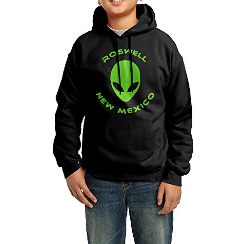 Roswell New Mexico Alien Hoodie Youth Pullover Hooded Sweatshirt XL