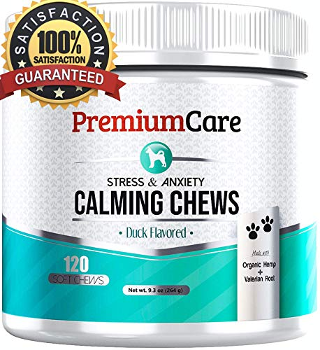 PremiumCare Calming Treats for Dogs | Hemp Oil...