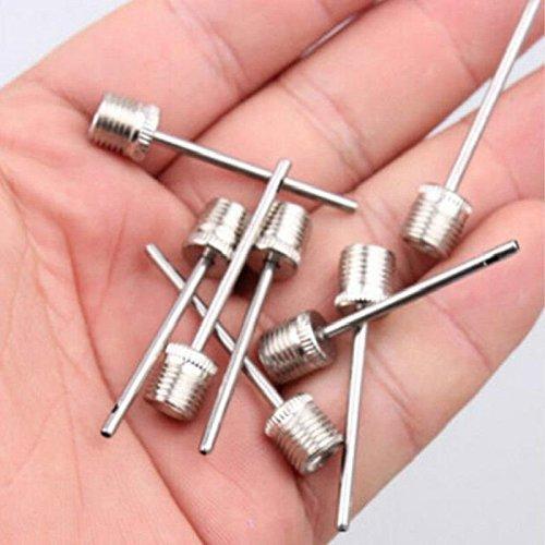 - Yonisun 10pcs Sports Inflating Needle Pin Football Basketball Soccer Metal Ball Air Pump