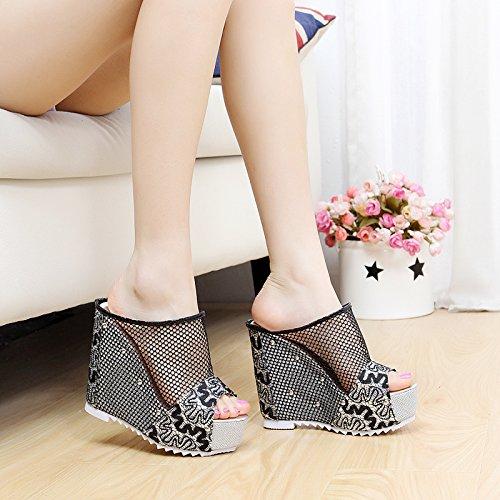 moda raffreddare estate pendenza le di lady Personalità FLYRCX sexy party e e pantofole di scarpe PTEnqA