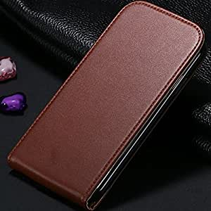 ModernGut HOT! High Quality Flip Vertical Case for Samsung Galaxy S4 S IV i9500 Korea PU Leather Cover Open Up And Down 8 Colors RCD02384