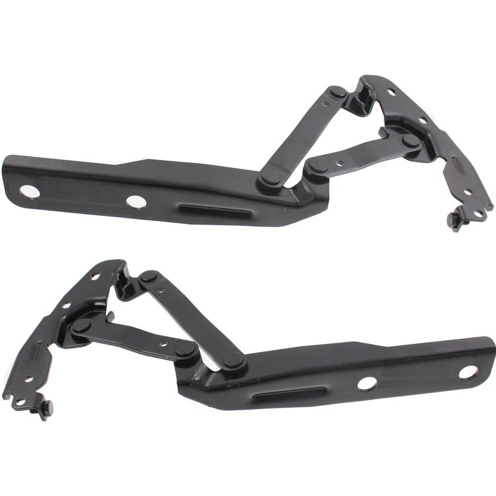Evan-Fischer EVA1990107143773 Hood Hinge for Chrysler Town And Country 08-16 / Grand Caravan 08-17 Right and Left Side Set of 2 Steel