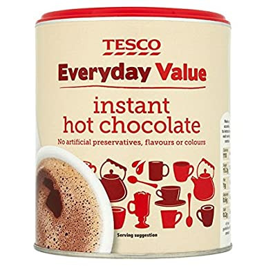 Tesco Everyday Value Instant Hot Chocolate Drink 400g