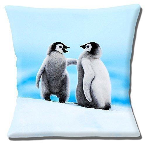 DOS Lindos mullido Bebé Pingüinos Gris Negro Blanco - 16 ...