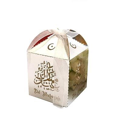 navigatee 50 PCS Eid Mubarak Caja De Dulces, Ramadan Kareem ...