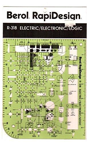 Berol, RapiDesign, R-318, Electric/Electronic/Logic by RAPIDESIGN (Image #1)
