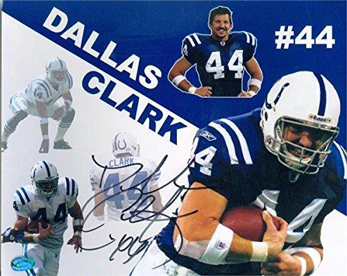 Dallas Clark autographed 8x10 Photo (Indianapolis Colts) Image #6 collage