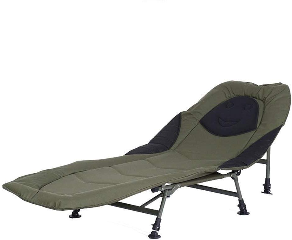 6 Pierna reclinable Bedair Bedchair pesca de la carpa Cama puerta acampar Camas fuera del Ministerio del Interior rotura plegable plegable doble Mejor Como Babys huéspedes Casa de Huéspedes: Amazon.es: Hogar