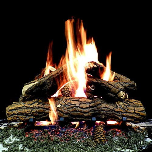 myard-24-inches-country-oak-deluxe-style-complete-fire-gas-logs-set-with-hearth-kit-for-vented-gas-f