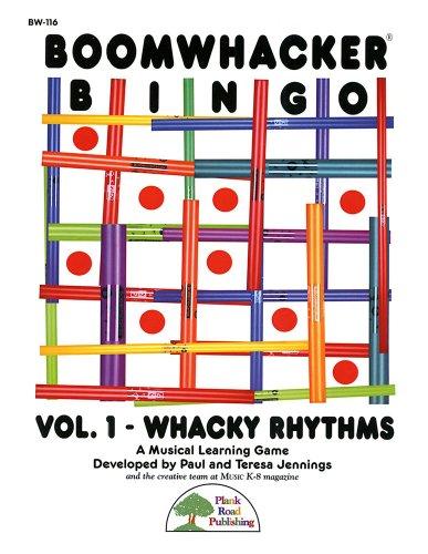 BOOMWHACKER BINGO - Vol 1, Whacky Rhythms - Kit with CD