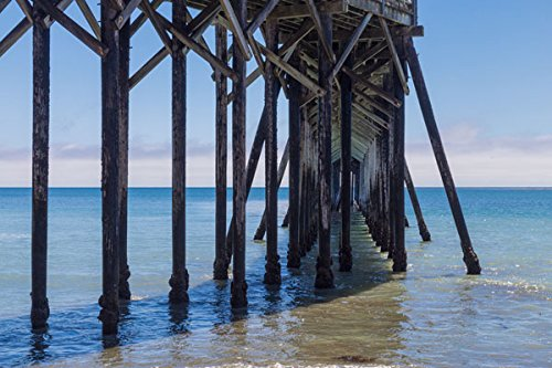 San Simeon Pier III, Fine Art Photograph By: Lee Peterson; O